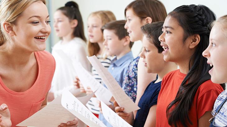 學唱歌課程不建議每天都上