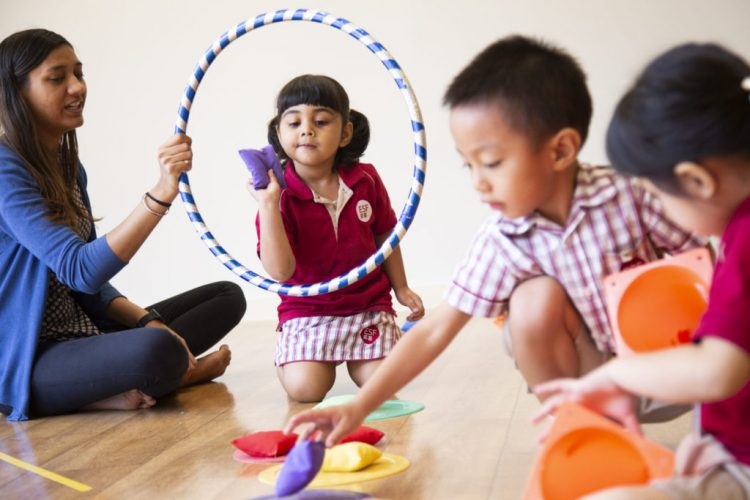 Playgroup 香港幼兒園教育方式先進